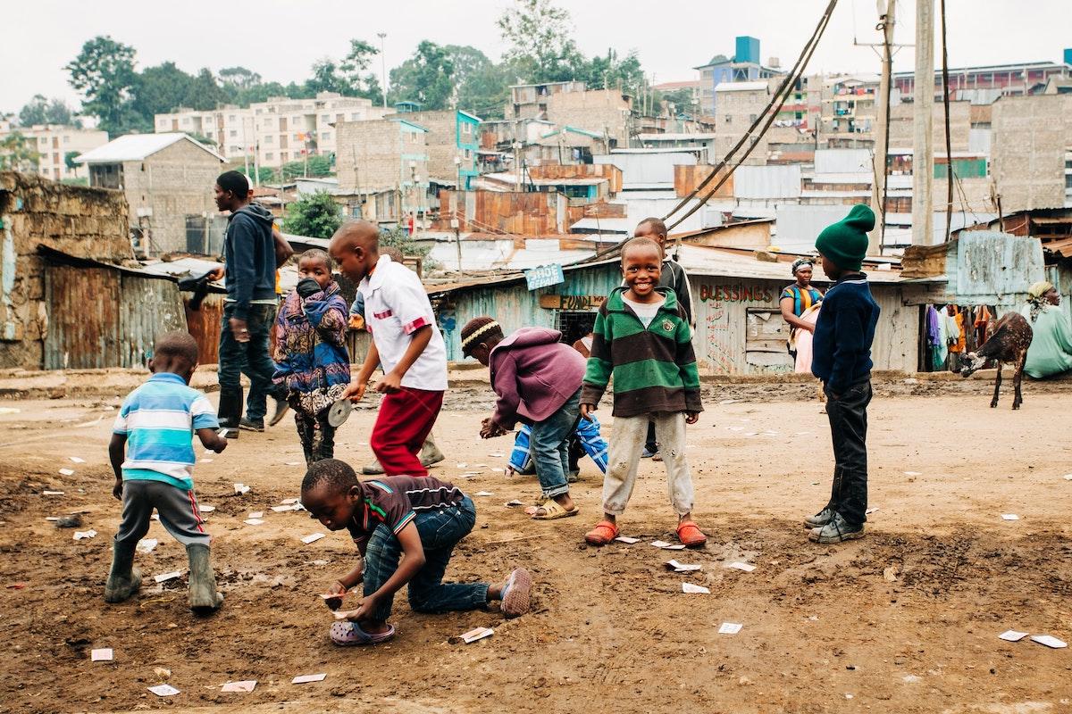Kenia, Nairobi, Armut