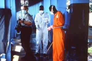 Ebola, Klinik, 1995, Medikament, Behandlung.