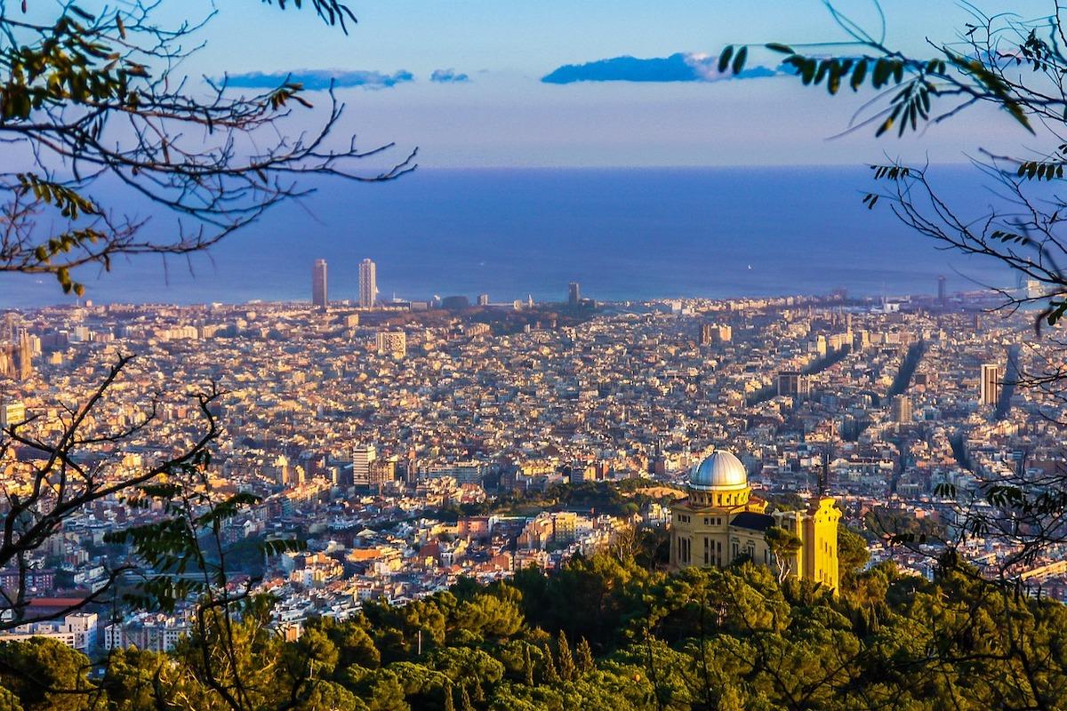Barcelona, Stadt, Verkehr, Superinseln.