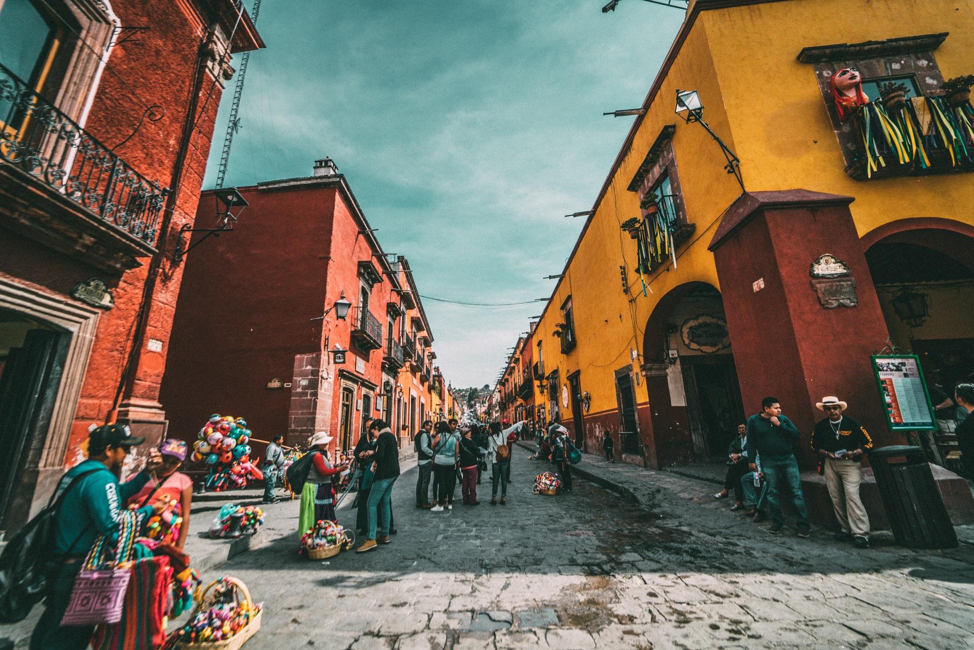 Mexiko, Straße, Menschen