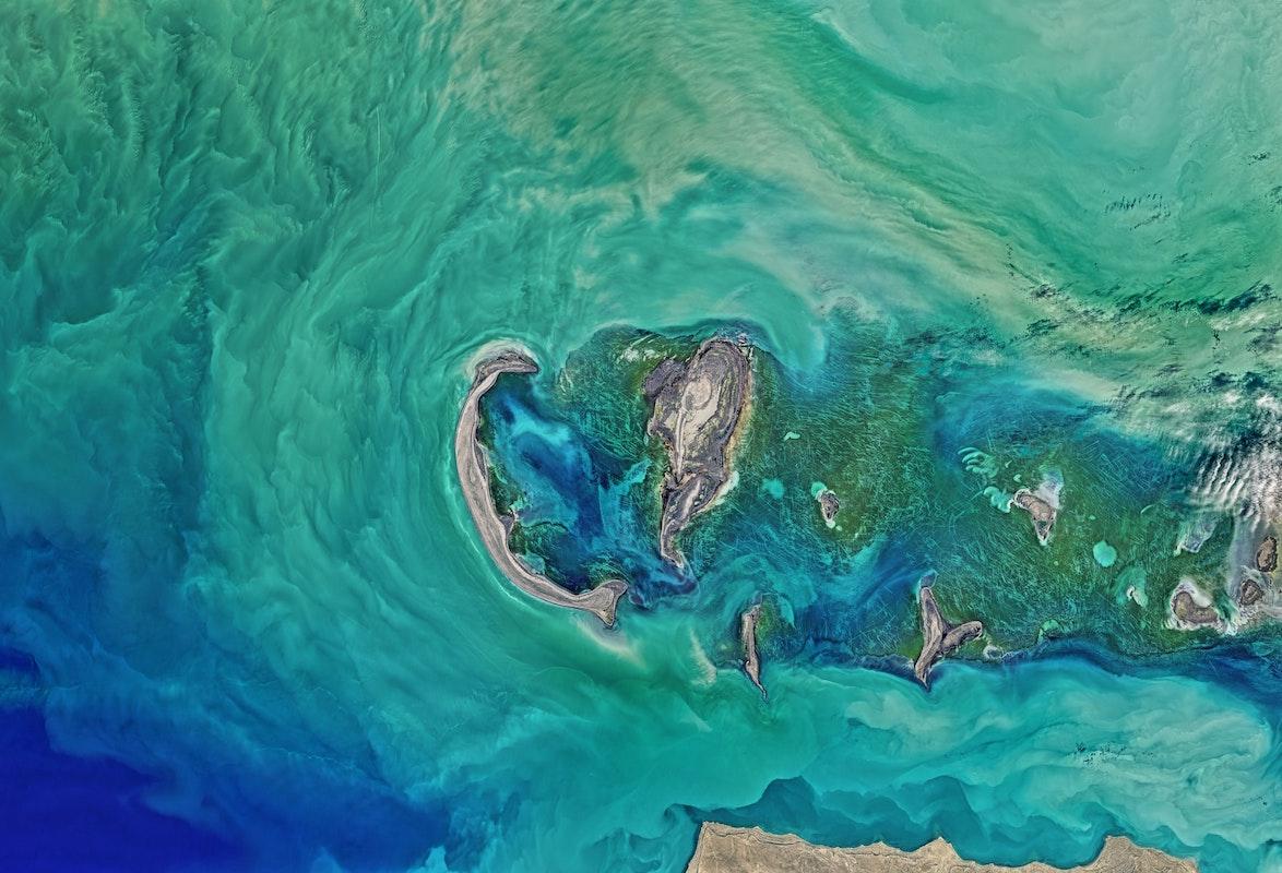 Satellit, Meer, Klima