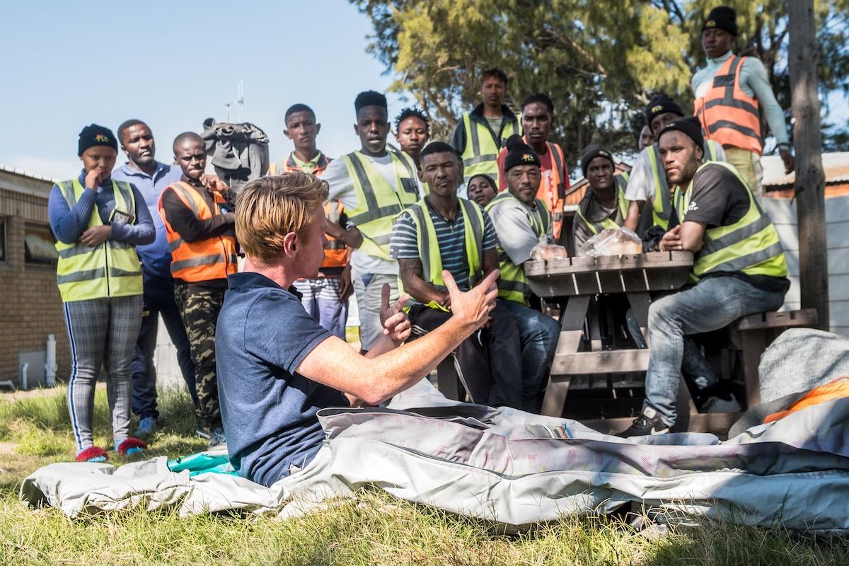 Shelterbag, wasserdichter Schlafsack, für Obdachlose und Flüchtlinge