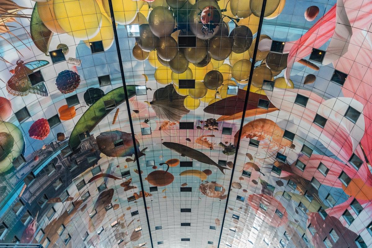 Markthalle in Rotterdam, Niederlande