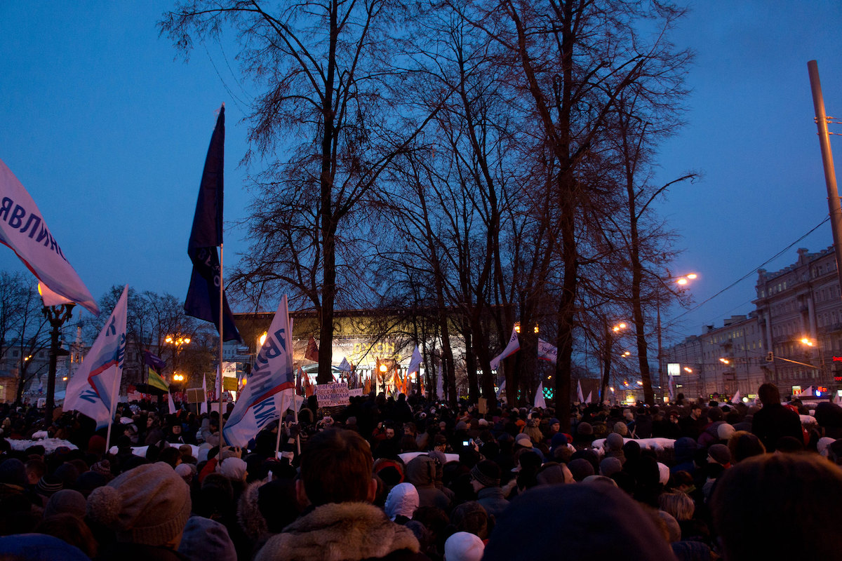 Proteste in Russland 2012