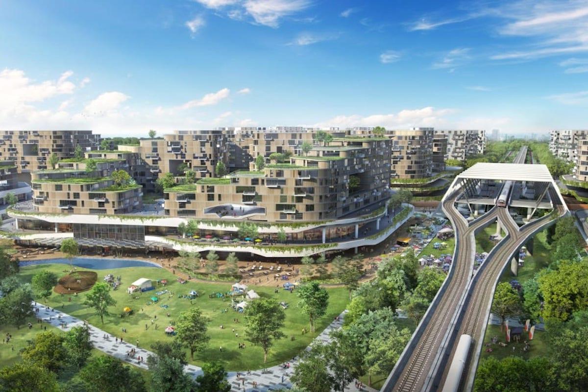 Singapur, Tengah, Smart City, nachhaltige Stadt