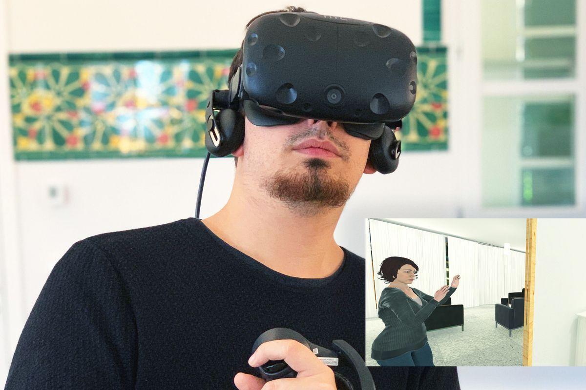 Virtual Reality, häusliche Gewalt, Empathie-Training