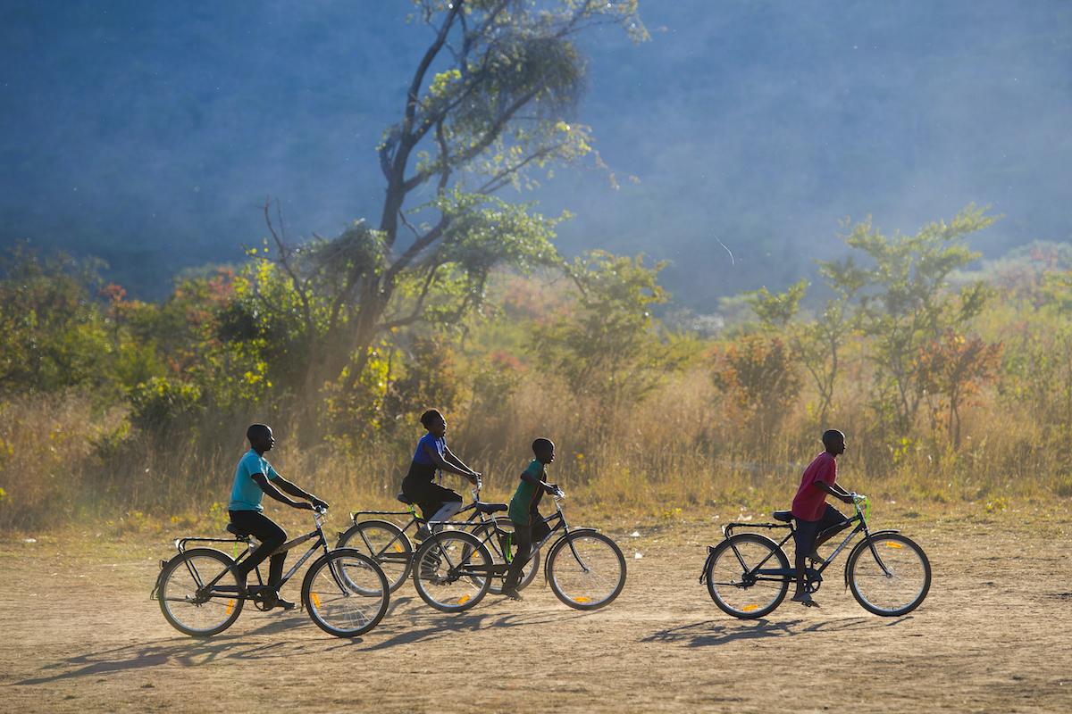 Fahrräder, Afrika, World Bicycle Relief