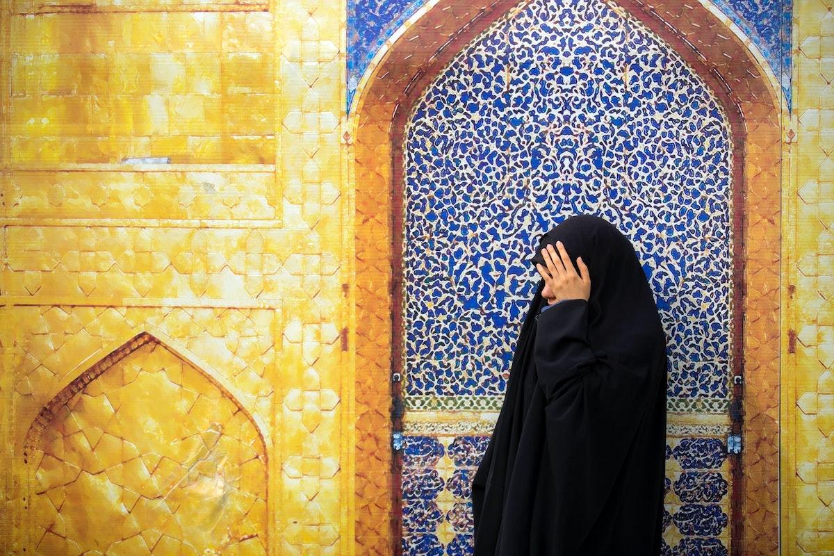 Frau, Islam, Moschee