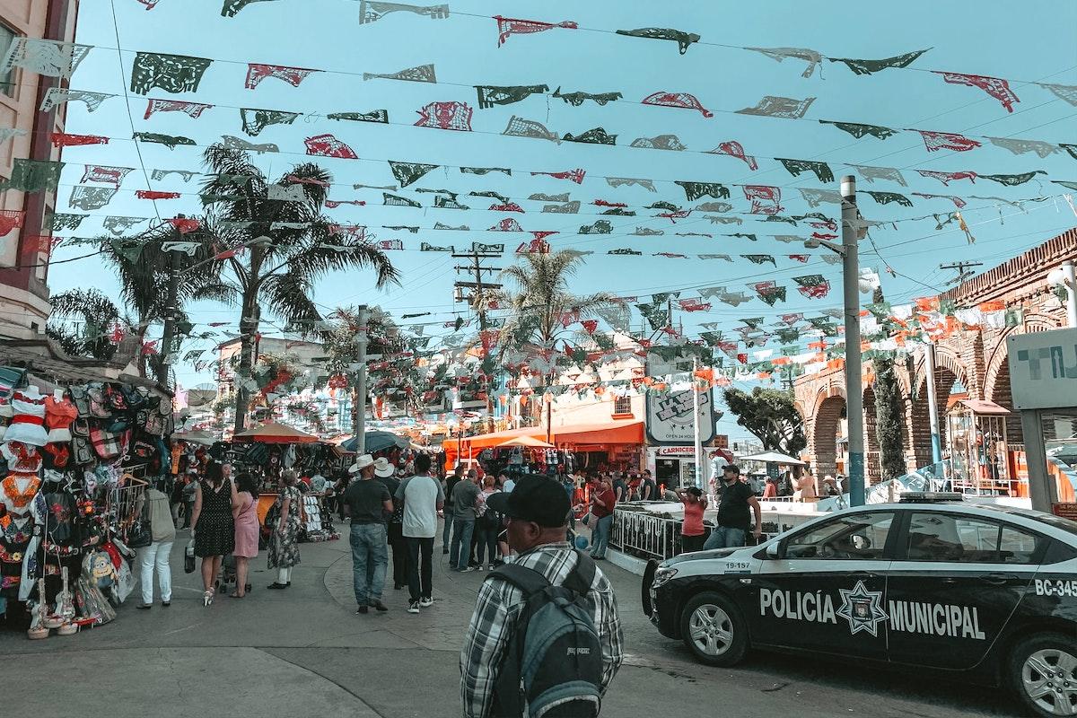 Mexico, party, police car