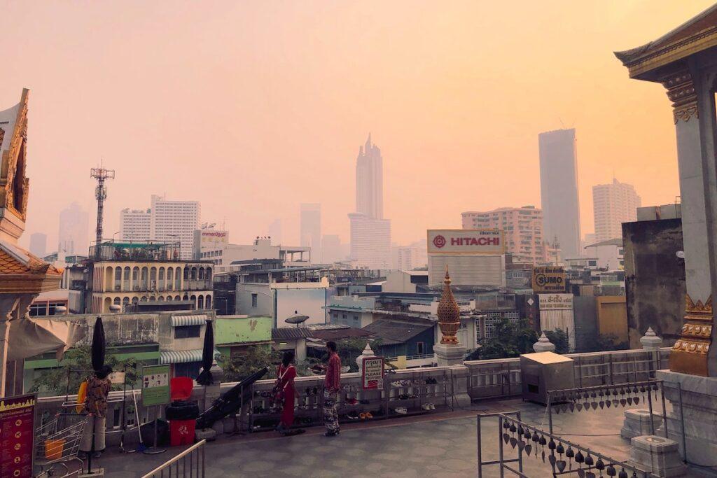 Smog in Bangkok. Foto: Stijn de Vries / Unsplash (CC0)