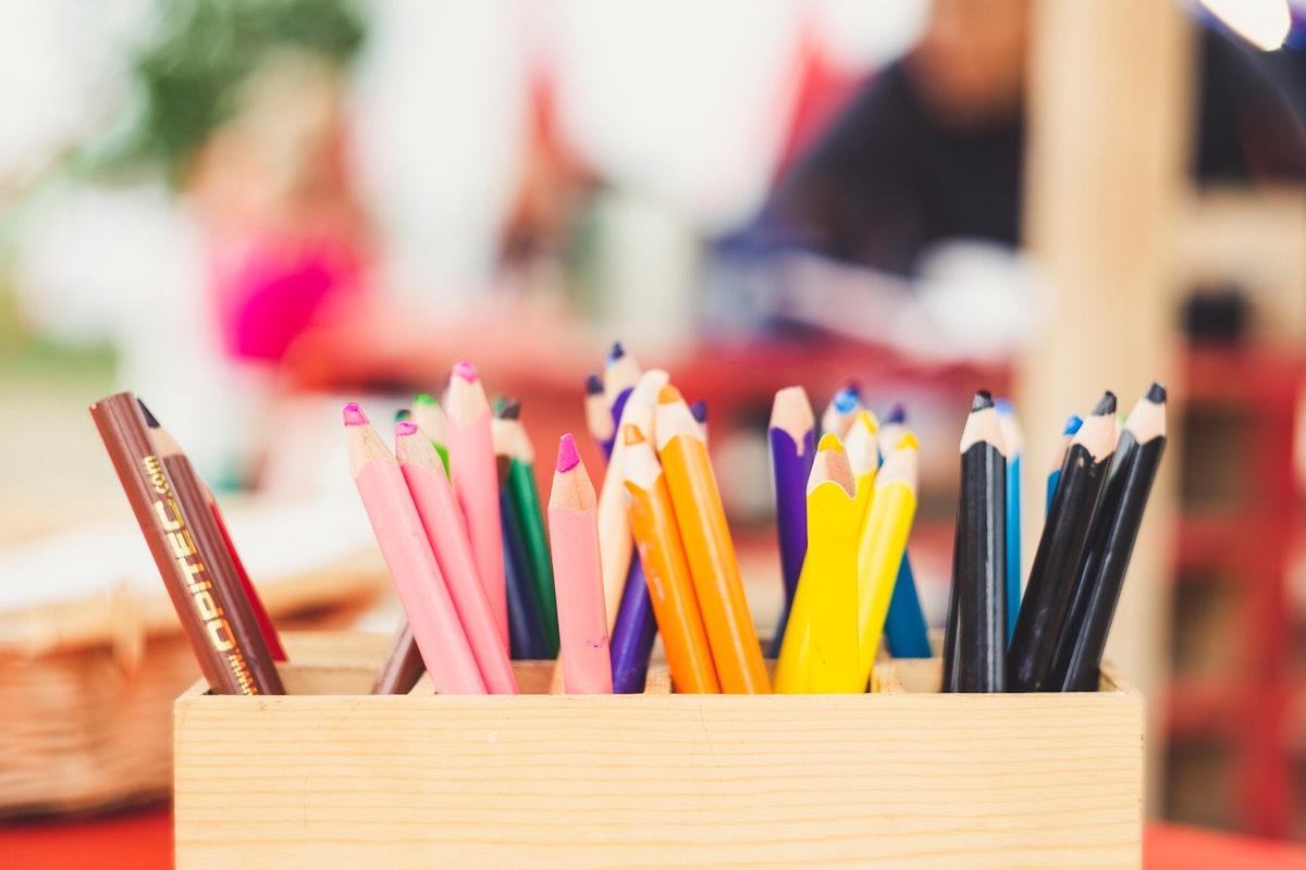 Crayons. Photo: Markus Spiske / Unsplash (CC0)