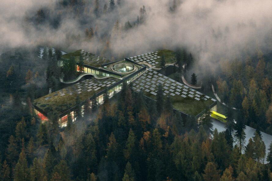 World's most sustainable furniture factory (draft) in Norway