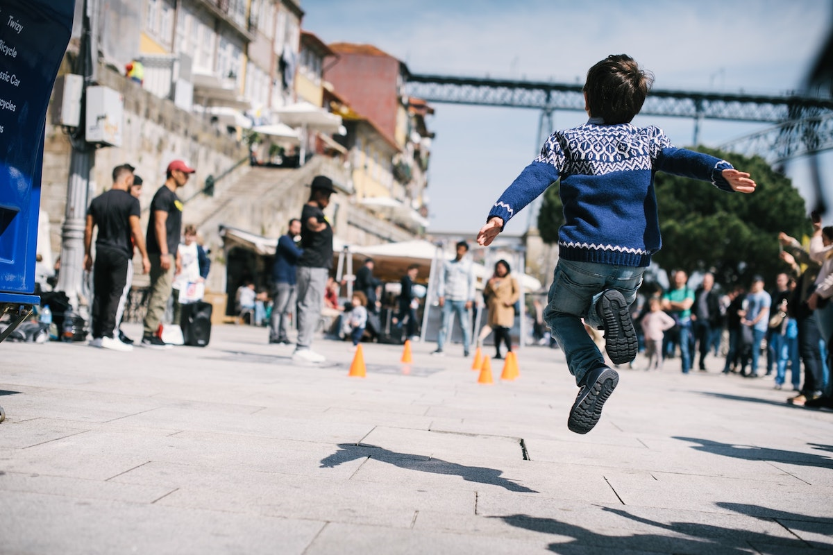 Porto, Portugal, Child