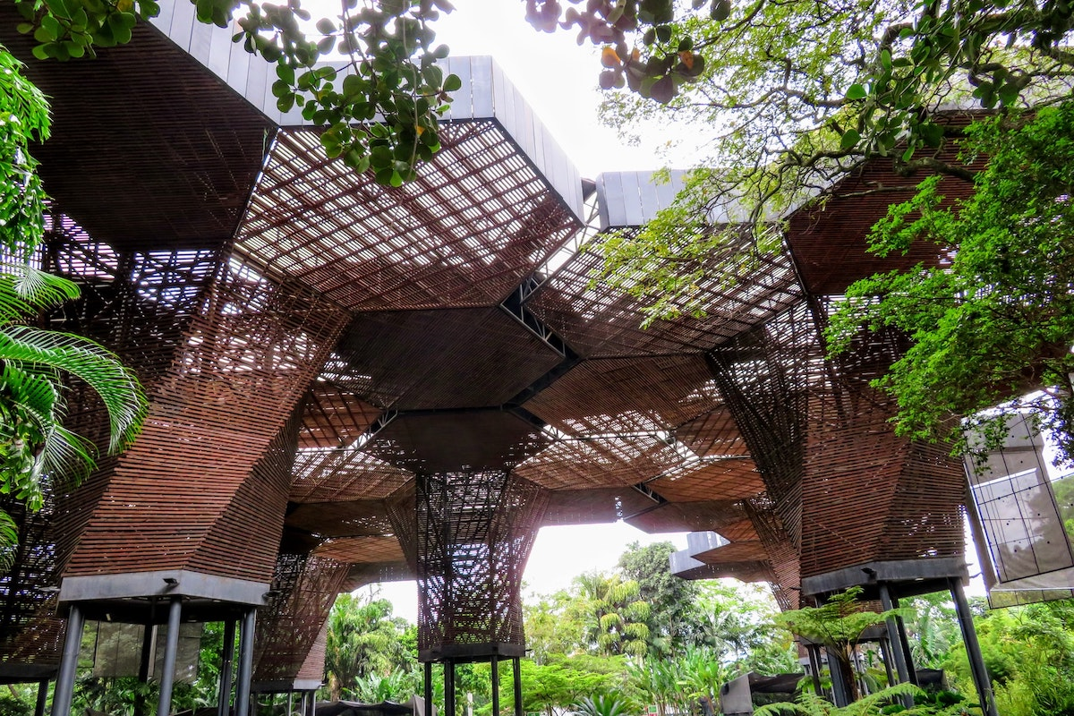 Medellin, botanic garden