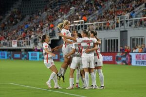 Soccer, football, women